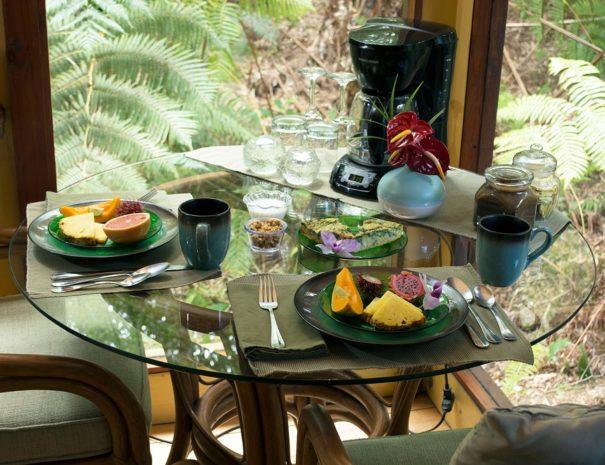 Breakfast in Volcano HI