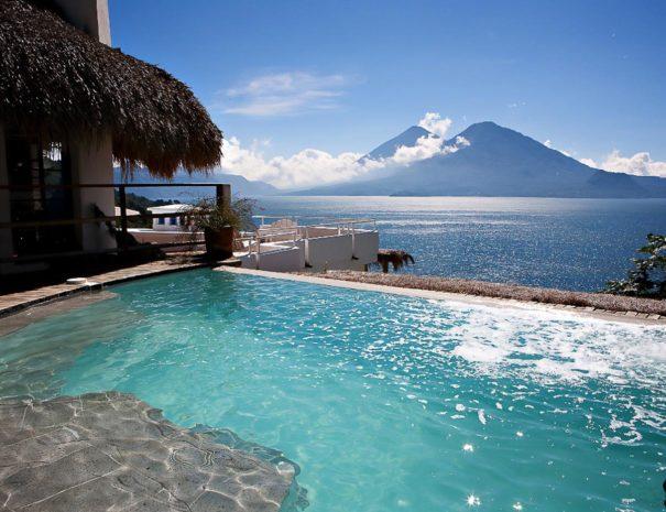 Infinity Pool Guatemala Vacation Rental